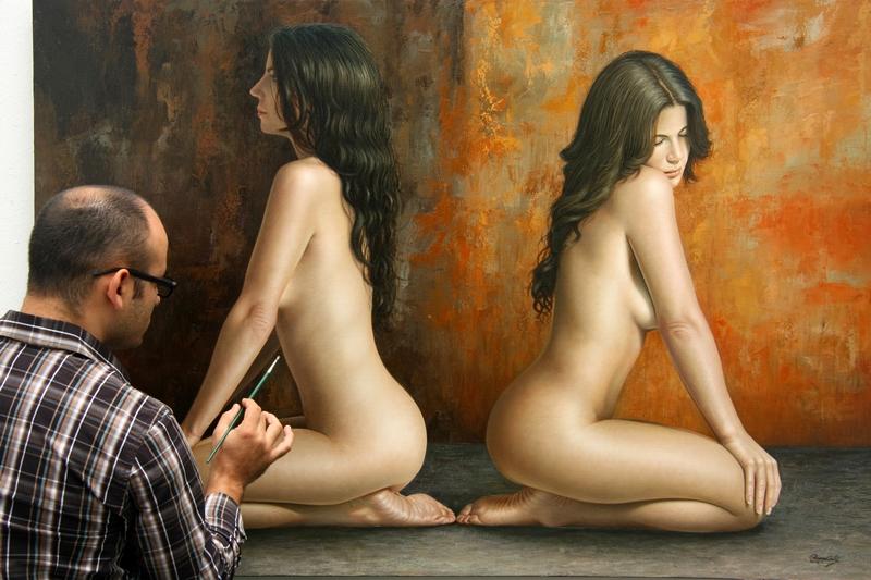 Nude art models selection in nude art models